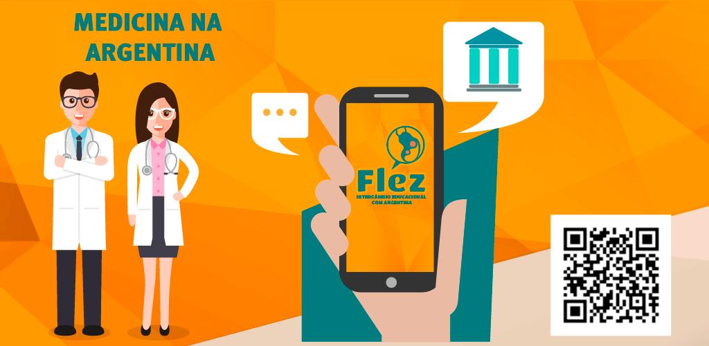 Flez Intercâmbios lança o 1º aplicativo dedicado a quem quer estudar medicina na Argentina
