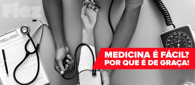 Medicina na Argentina, Porque é de graça quer dizer que é fácil?